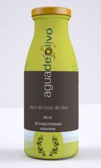 bebida de hoja de olivo