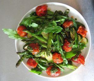 verduras aceite de oliva